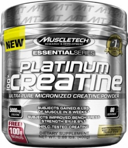 MUSCLE TECH - Platinum Creatine - 400 g
