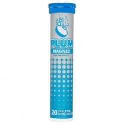 Plum Magnez, KRUGER, 20 tabletek