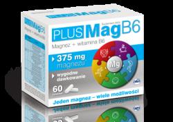 PlusMag B6, Asa, 60 tabletek