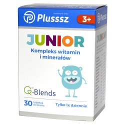 Plusssz Junior, 30 tabletek do ssania