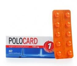 Polocard,150 mg, tabletki dojelitowe, 30 szt