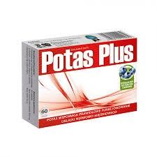 Potas plus, tabletki 60szt