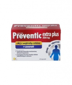 Preventic Extra Plus, 500 mg, kapsułki, 60 szt