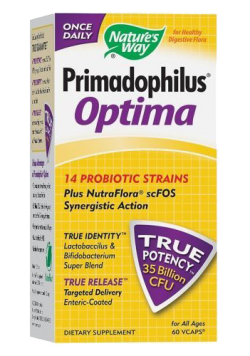 Primadophilus Optima, 60 kapsułek