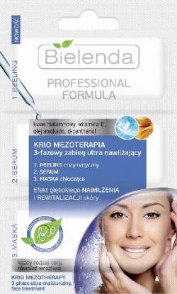 PROFESSIONAL FORMULA KRIO – MEZOTERAPIA 3-fazowy zabieg ultra nawilżający