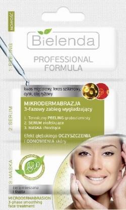PROFESSIONAL FORMULA MIKRODERMABRAZJA 3-fazowy zabieg wygładzający