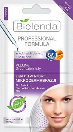 Peeling drobnoziarnisty EFEKT DIAMENTOWEJ MIKRODERMABRAZJI