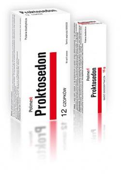 Proktosedon czopki doodbytnicze 12sztuk