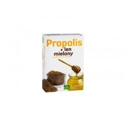 Propolis + Len mielony, 48 kapsułek