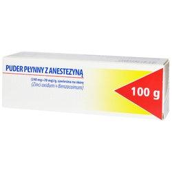Puder Płynny z Anestezyną, 100 g