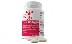 Pure Collagen - kolagen morski z elastyną i antyoksydantami, 100 tabletek