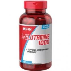 MET-RX - Pure L-glutamine 1000 mg - 200 tab