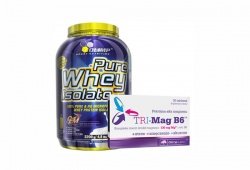 OLIMP - Pure Whey Isolate 95 + Tri-Mag B6 - 2200g + 30tab