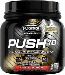 MUSCLE TECH - Push 10 Performance Series - 487 g