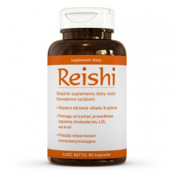 Reishi suplement diety (80 kaps