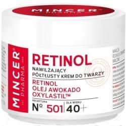 MINCER PHARMA  Retinol, 50 ml półtłusty nawilżający