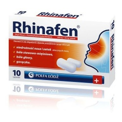 Rhinafen, 10 tabletek