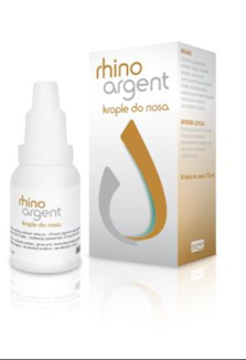 Rhinoargent, krople do nosa, 15 ml