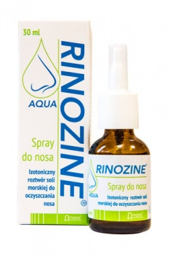 Rinozine Aqua, spray do nosa, 30ml