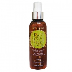GlySkinCare, Rozświetlający suchy olejek arganowy do włosów i ciała, 125ml