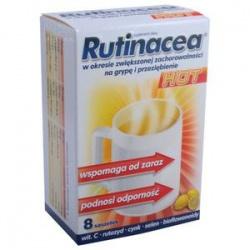 Rutinacea hot, saszetki, 8 sztuk