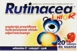 Rutinacol Junior, 20 tabletek