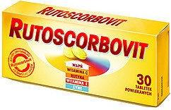RUTOSCORBOVIT 30 TABLETEK POWLEKANYCH