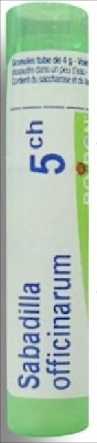Boiron Sabadilla officinarum, 5CH, granulki, 4 g