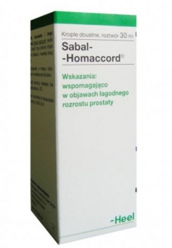 Heel-Sabal - Homaccord, krople 30 ml
