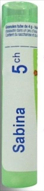 Boiron Sabina, 5CH, granulki, 4 g