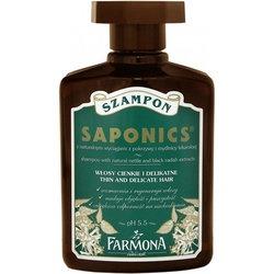 Farmona Saponics, szampon, mydlnica lekarska i pokrzywa, 300 ml