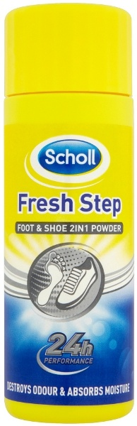 Scholl, Fresh Step, zasypka do stóp i obuwia, 75 g