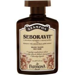 Farmona Seboravit, szampon do włosów z czarną rzodkwią, 300 ml