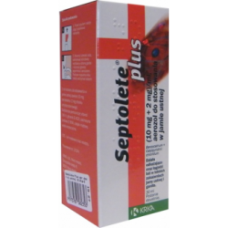 Septolete Plus, aerozol do stosowania w jamie ustnej, 30 ml