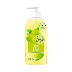 Seyo, Zielona Oliwka, mydło płynne z pompką, 500 ml