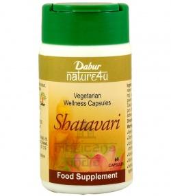Dabur Shatavari - Suplement dla każdej kobiety, 60 kapsułek