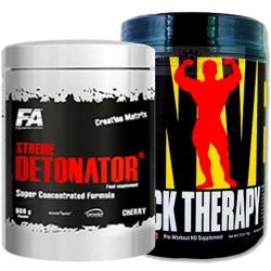 UNIVERSAL NUTRITION - Shock Therapy + Xtreme Detonator - 840g + 500g