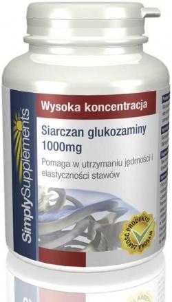 Siarczan glukozaminy 1000 mg 120 tabletek