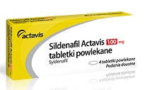 Sildenafil Actavis - Sildenafilum - 100 mg