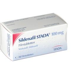 Sildenafil STADA, 100 mg, 4 tabletki