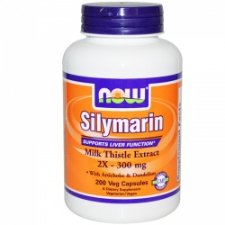 NOW - Sylimarin - 2x 300mg - 200 kaps