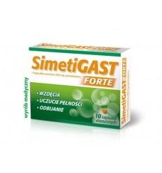Simetigast Forte, kapsułki elastyczne, 20 szt