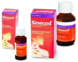 Sinecod, krople, (5 mg ml), 20 ml