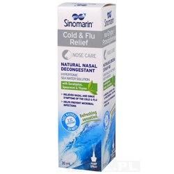 Sinomarin, spray do nosa, na grypę i przeziębienie, 100 ml