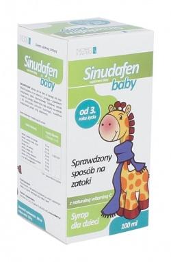 Sinudafen Baby, syrop, 100 ml