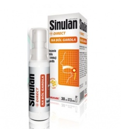Sinulan Direct, spray do gardła, 30 ml