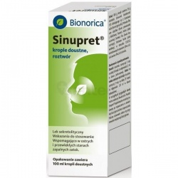 Sinupret, krople, 100 ml