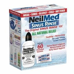 Sinus rinse, 60 saszetek + butelka 240 ml