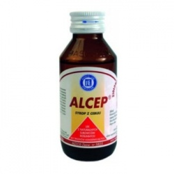 Sirupus Alcep, syrop z cebuli, 125 g