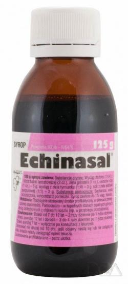 Sirupus Echinasal, syrop, 125 g